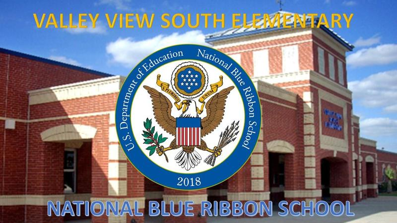 VALLEY VIEW SOUTH 2018 NATIONAL BLUE RIBBON SCHOOL Thumbnail Image