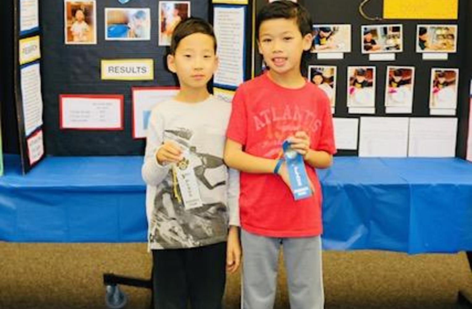 Congratulations 3rd grade Science Fair winners!