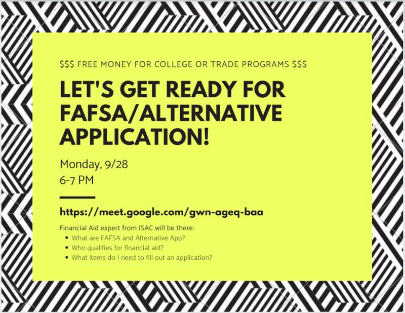 FAFSA/Alternative Application Help, September 28 Featured Photo