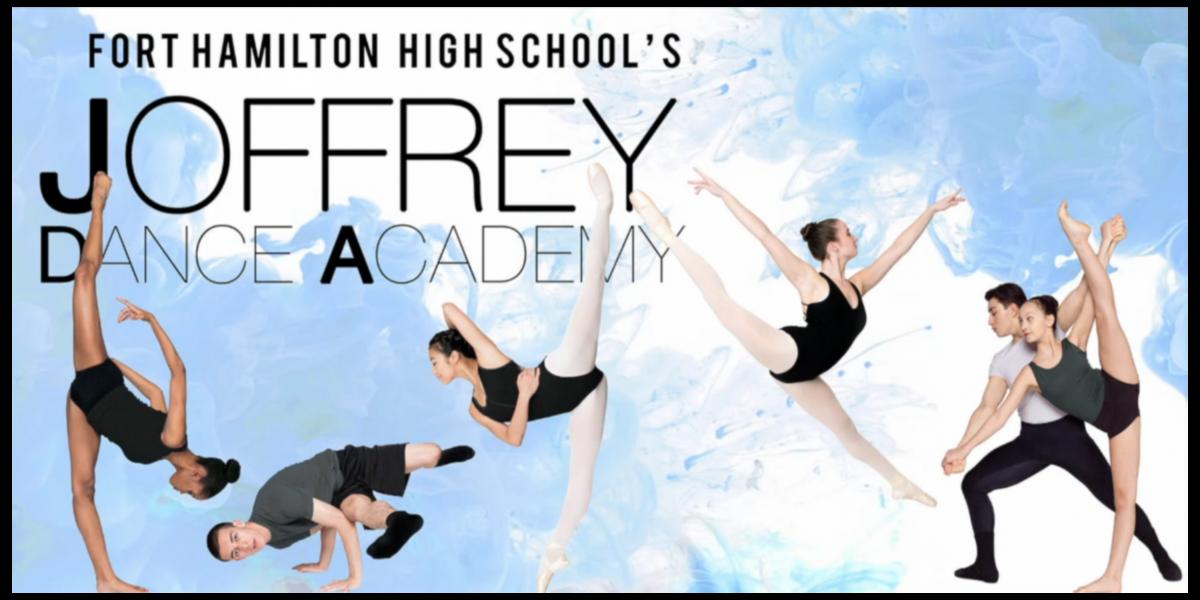 Fort Hamilton High School Joffrey Ballet. FHHS dancers