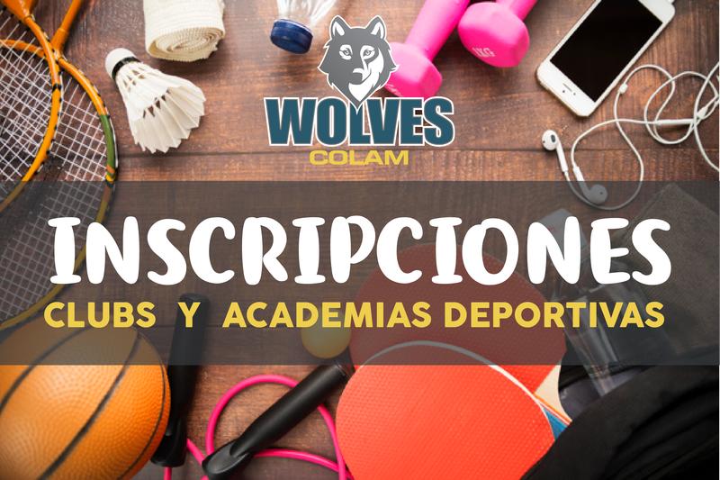 INSCRIPCIÓN A CLUBS  Y  ACADEMIAS DEPORTIVAS  CICLO ESCOLAR 2019 – 2020 Featured Photo