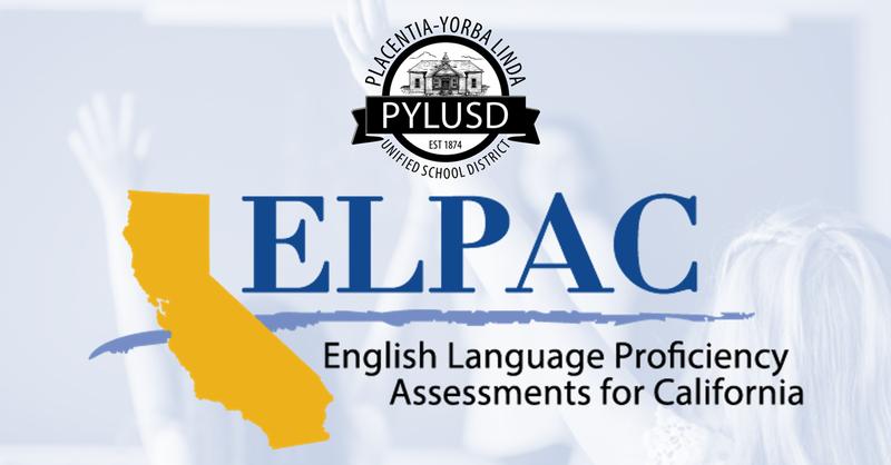 ELPAC graphic for PYLUSD.