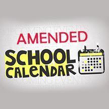 Amended Calendar
