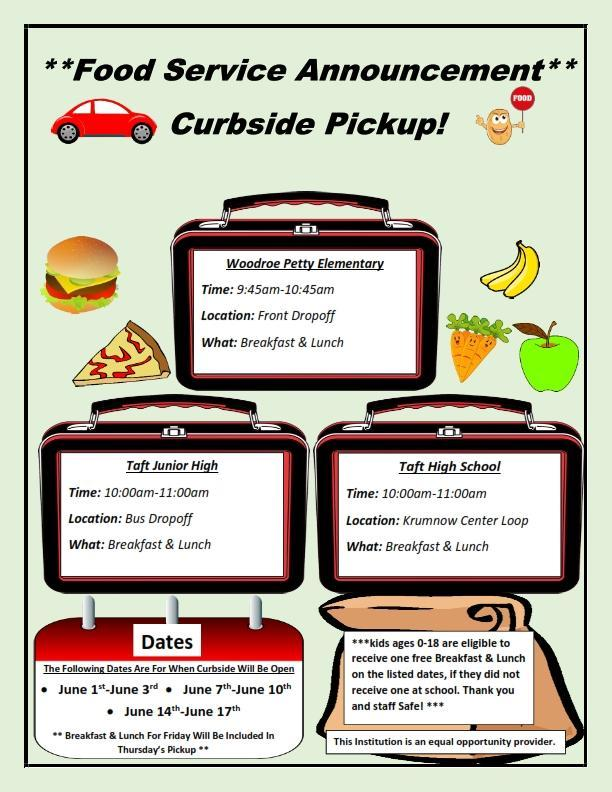 Food Service Curbside Pickup Featured Photo