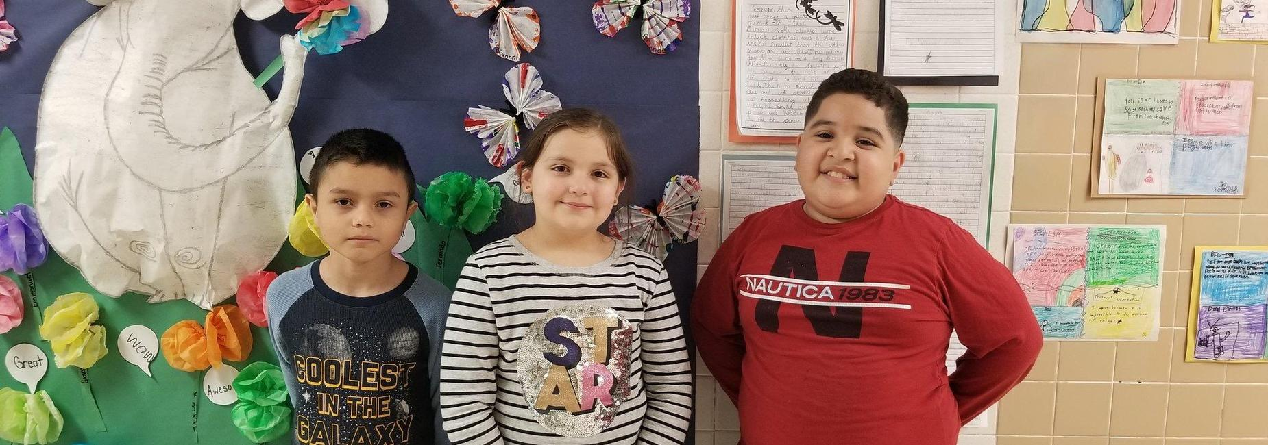 2nd-3rd Grade Spanish Spelling Bee Winner and Runners Up