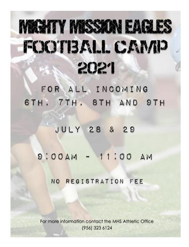 Might Mission Eagles Football Camp 2021 Featured Photo