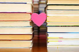 Books with love.