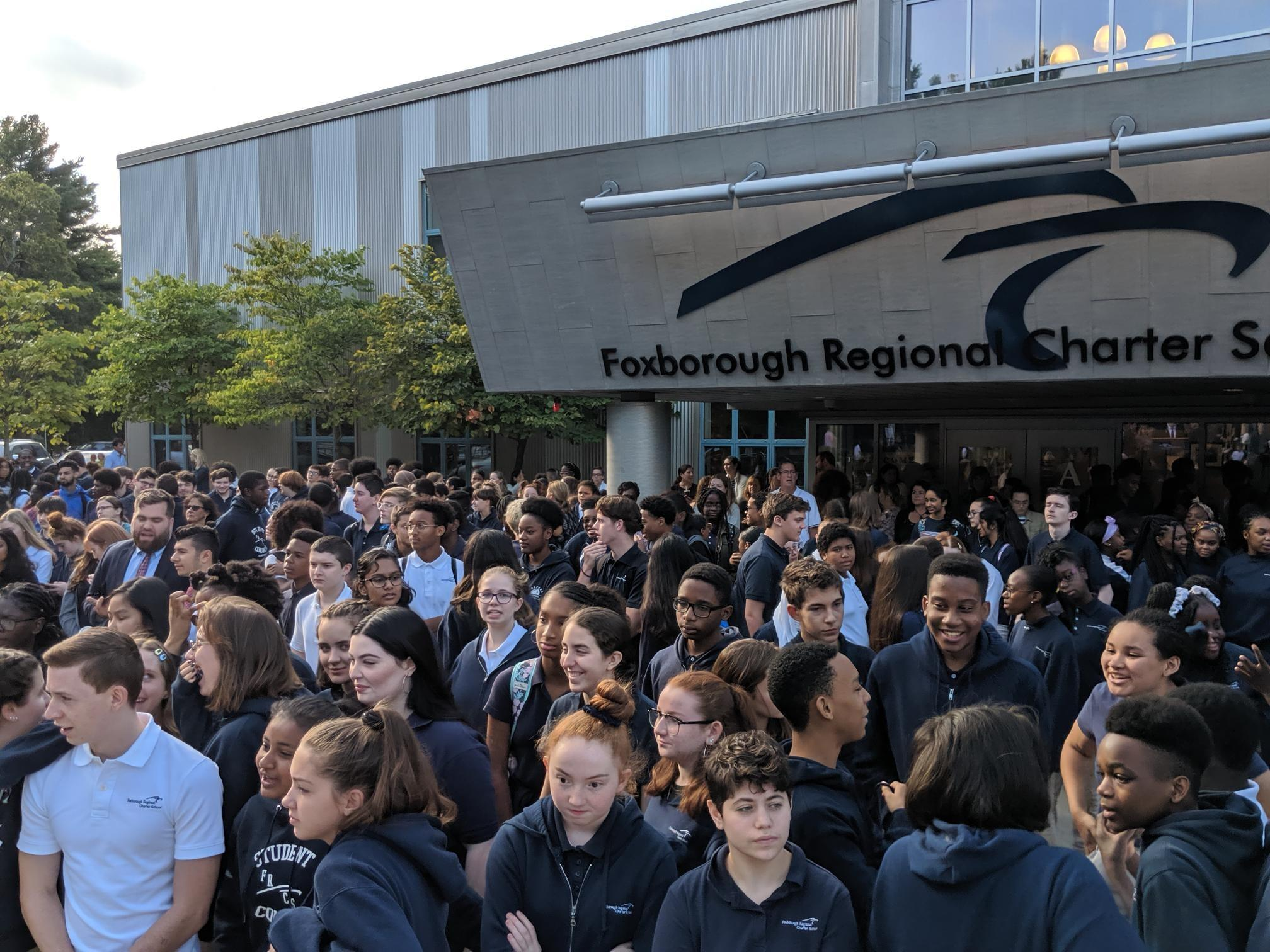 Students gather at 9/11 ceremony