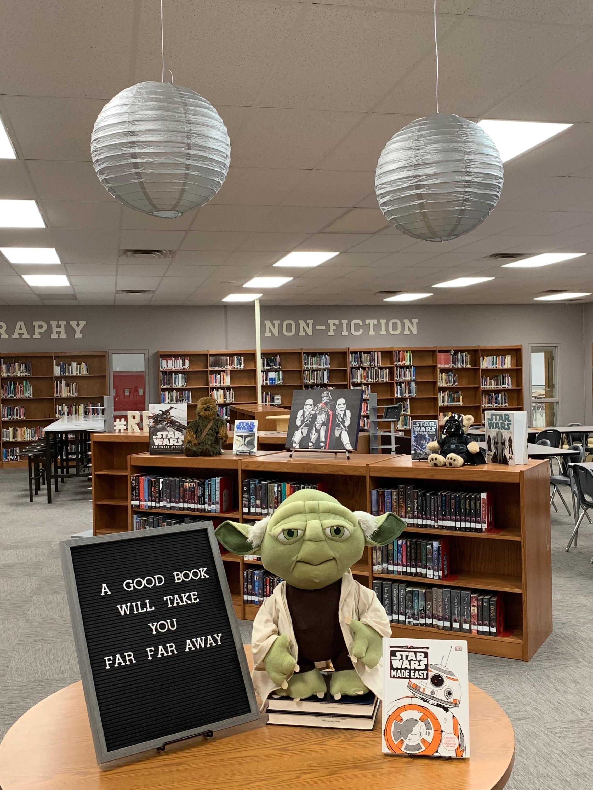 Star wars library theme
