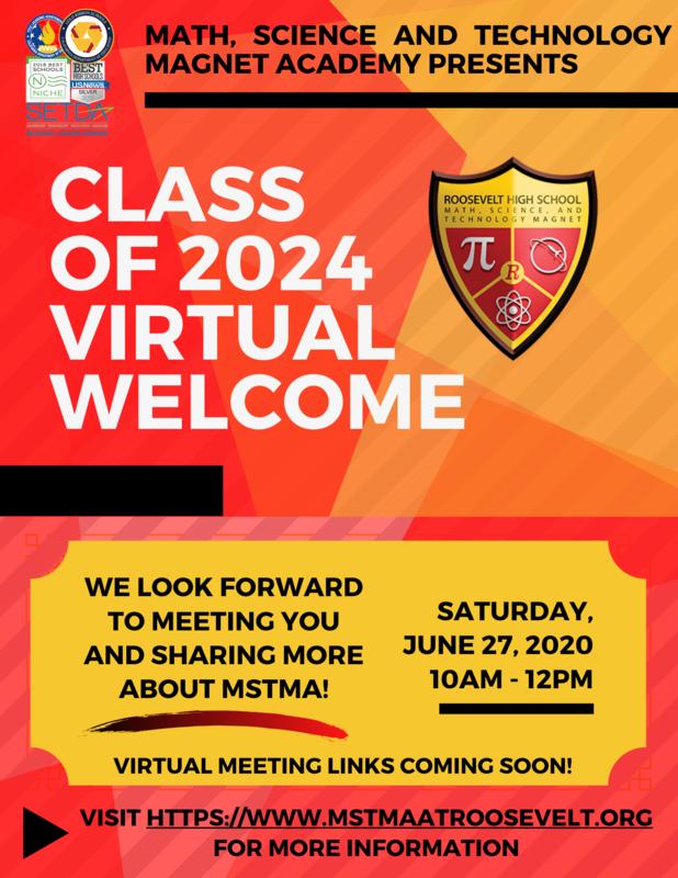 Class of 2024 Virtual Welcome on Saturday, June 27!  ¡Bienvenida virtual para la generación de 2024 el sábado, 27 de Junio! Featured Photo