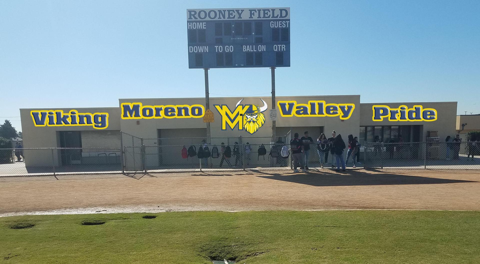 Moreno Valley High-New Mural