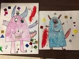 Texture Monsters with Kinder