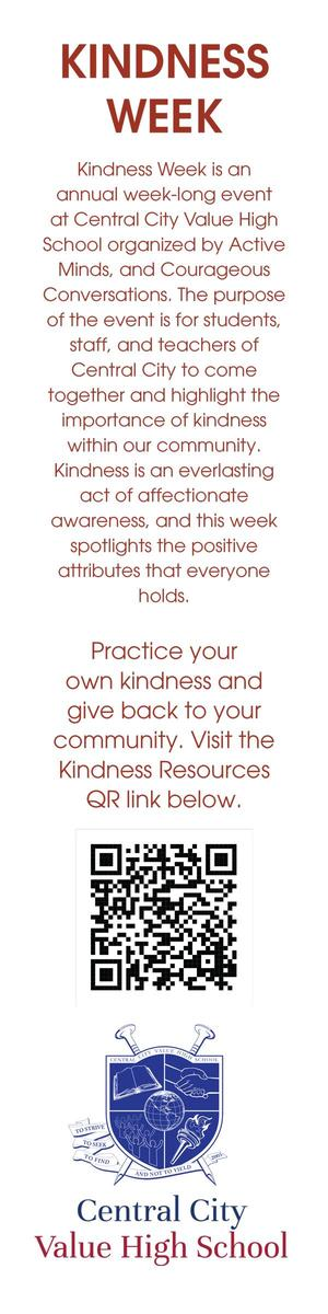 Kindness Week Bookmark
