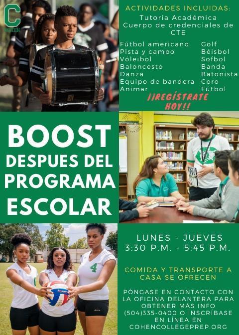boost spanish
