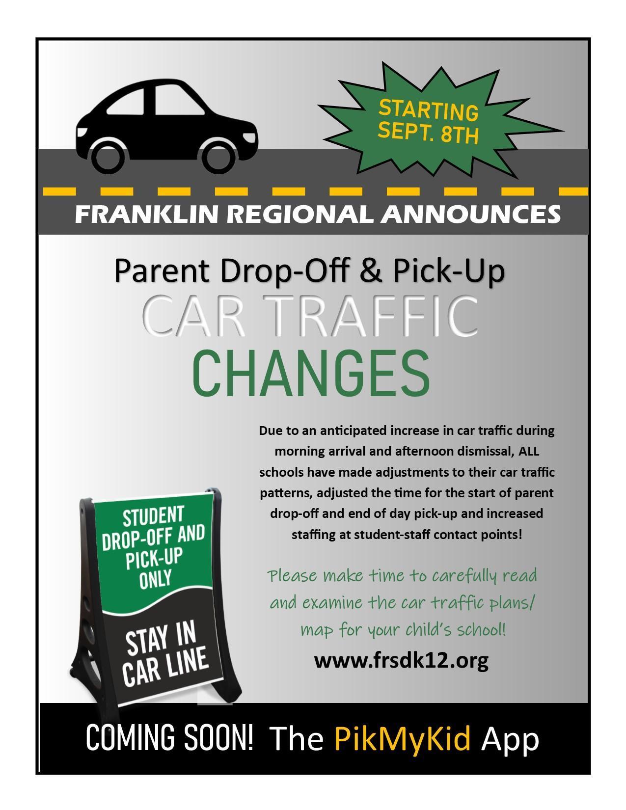 Car Traffic Changes