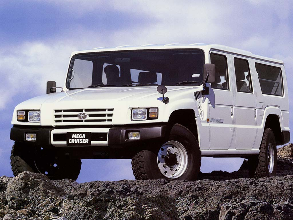 The Toyota Mega Cruiser is the Twenty-Year-Old Behemoth You Have Never Heard Of