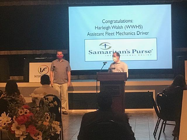Rich Voisinet & Jon Whalen, from InterFlex Group speaking about their apprentice, Helen H.