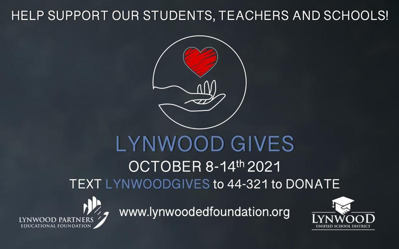 Lynwood Gives Campaign Raises Money for Scholars Oct. 8-14 Featured Photo