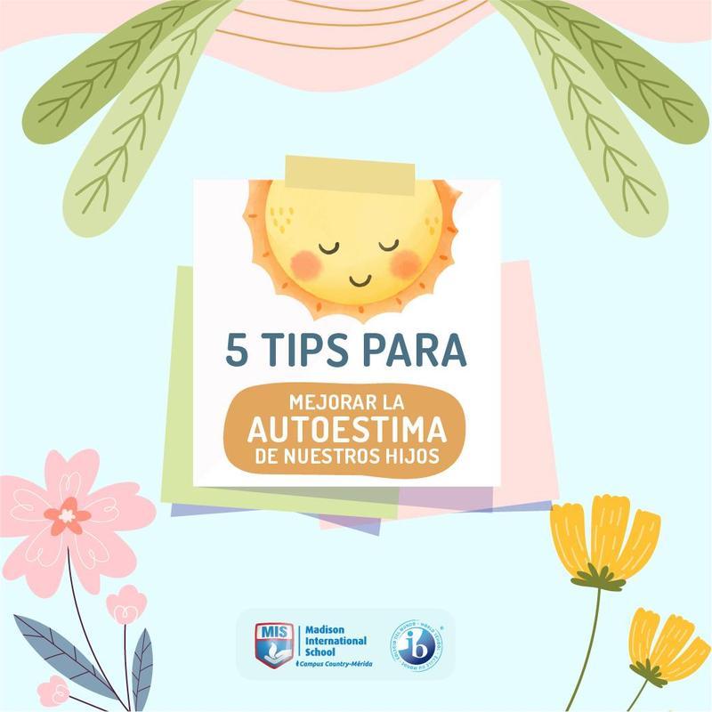 5 Tips Para Mejorar La Autoestima En Nuestros Hijos Featured Photo