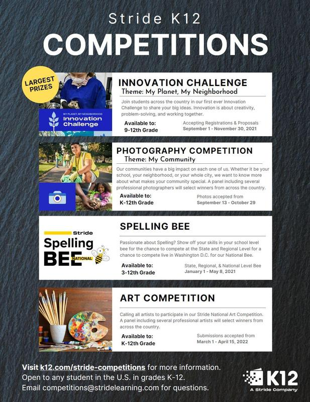 Stride K12 Competitions Featured Photo