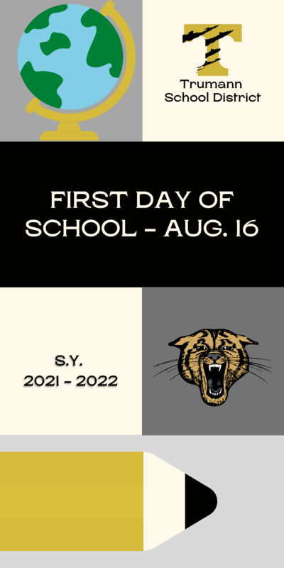 First Day of School - August 16th Featured Photo