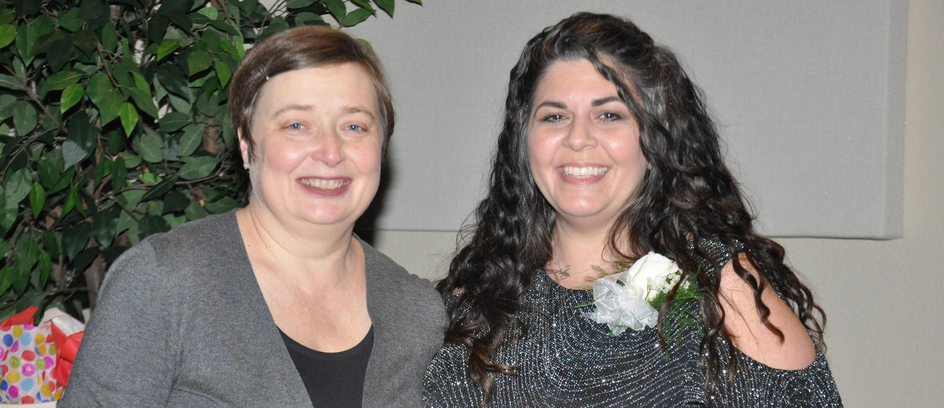 SCMS' Aubrey Berg Named Middle School Teacher of the Year