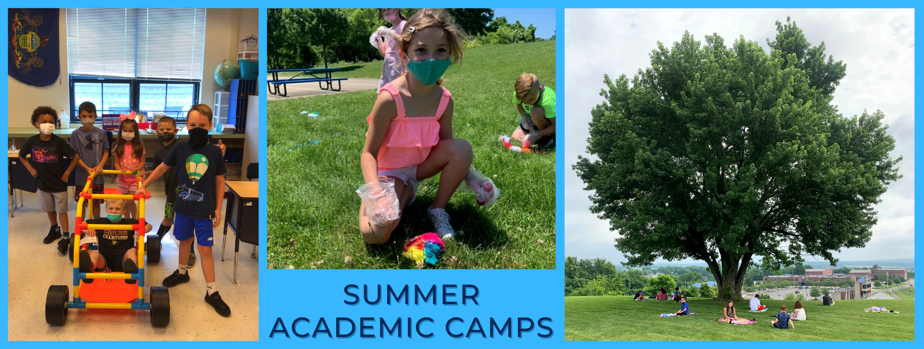 Summer Camps Collage