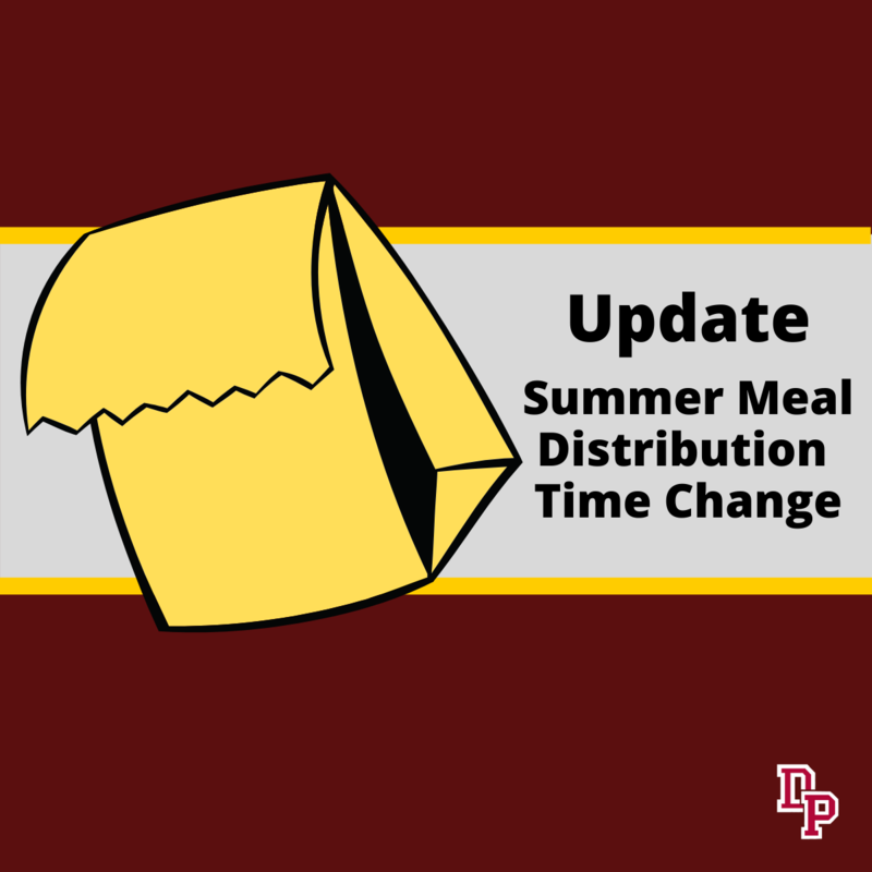 meal schedule change
