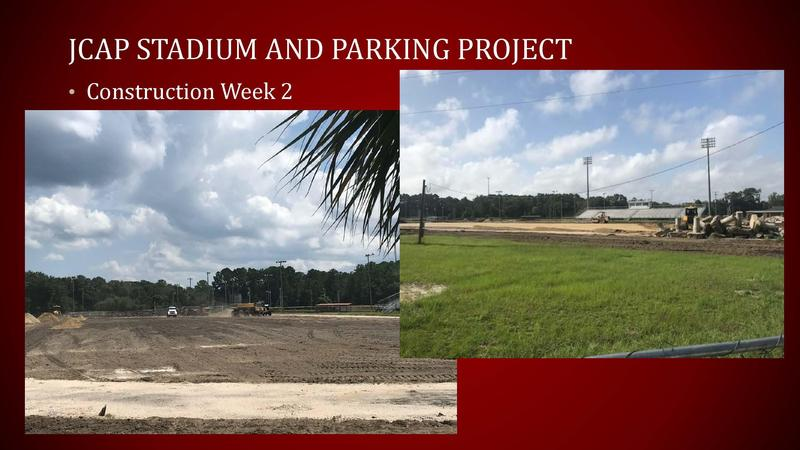 UPDATE: JCAP Parking Lot & Athletic Field Capital Project (August 27, 2021) Featured Photo