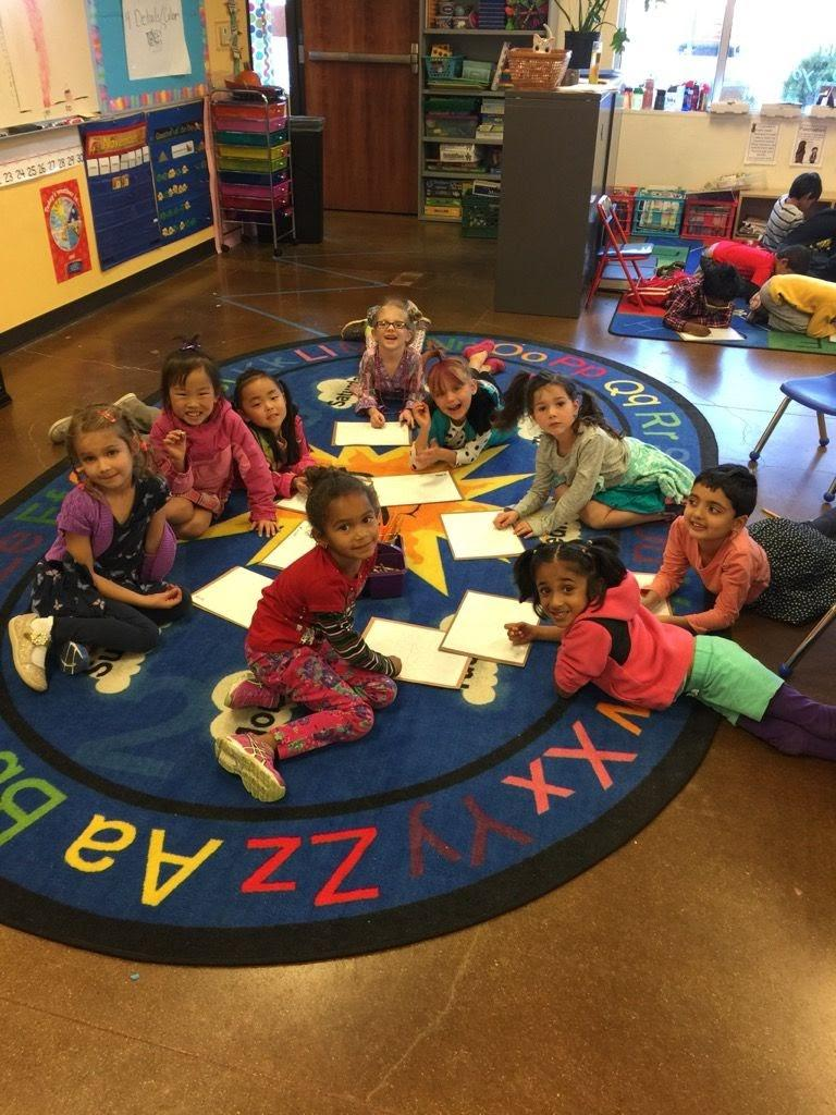 Writing for kinders