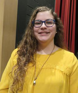 Keauna Hayes has been in six out of eight high school productions.
