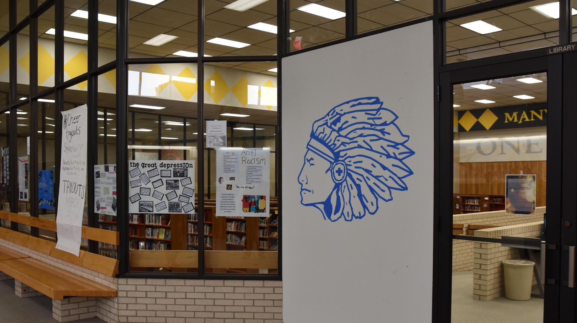 Tape Art at the SHS