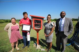 Little Free Library Dedication