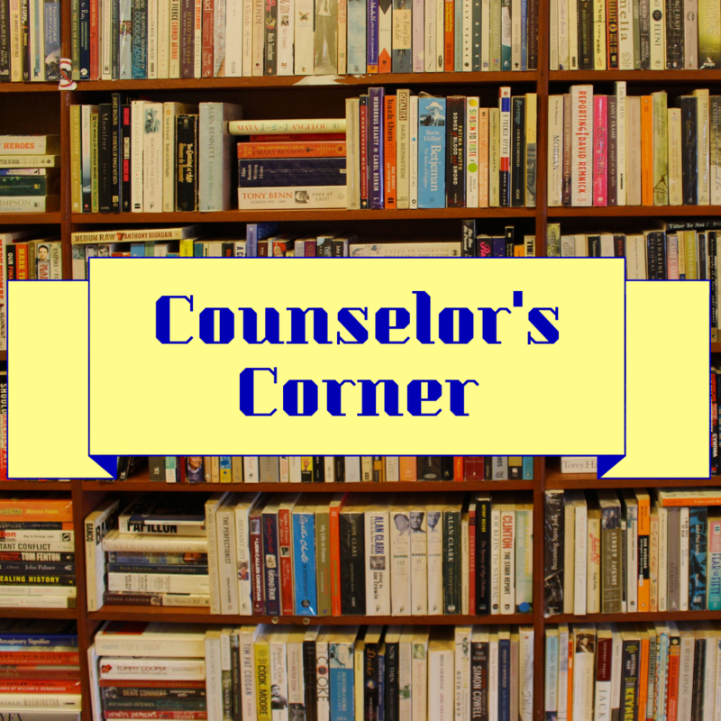 Counselor's Corner and books