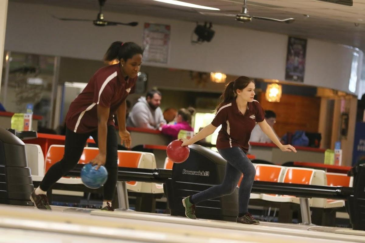 two JV bowlers