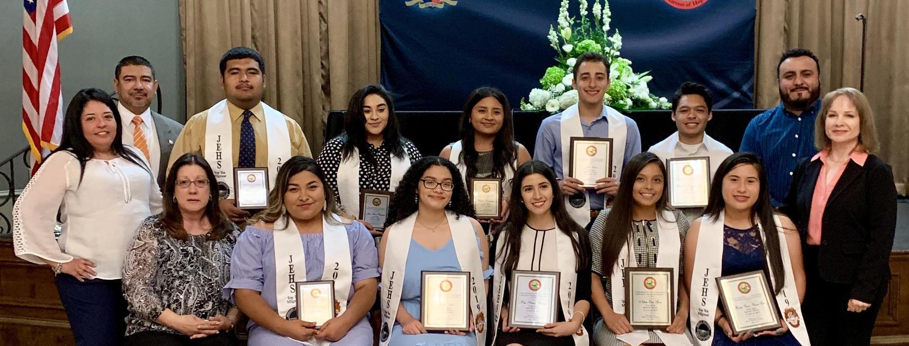 JEHS Top 10 Migrant Students