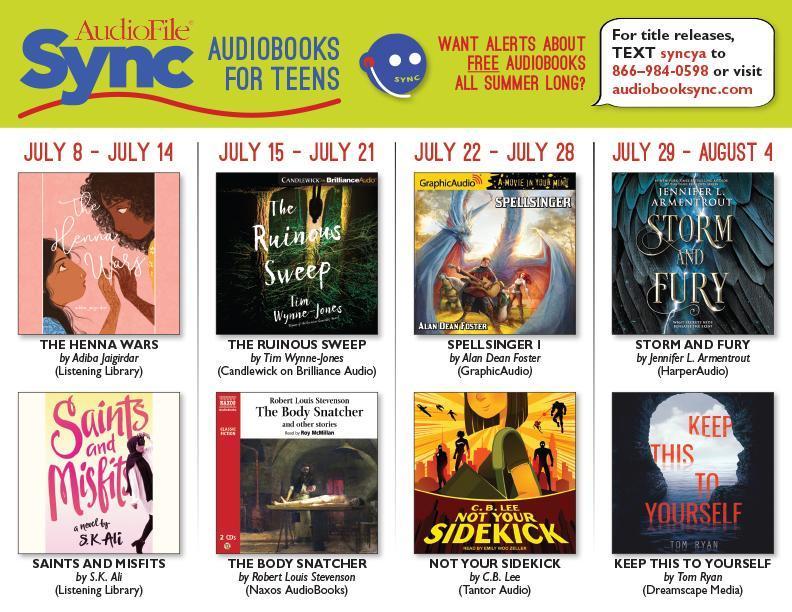 Audiobooksync July 22 Aug 4