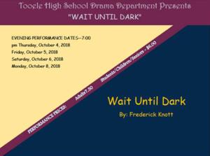 Wait Until Dark Poster