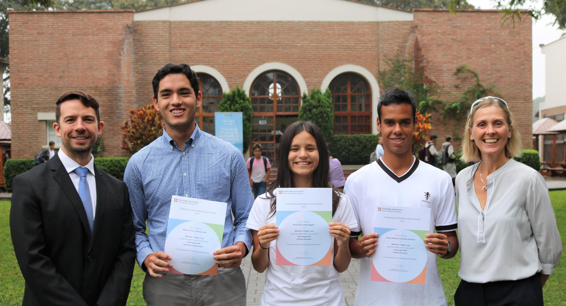Students win Top of the World Award