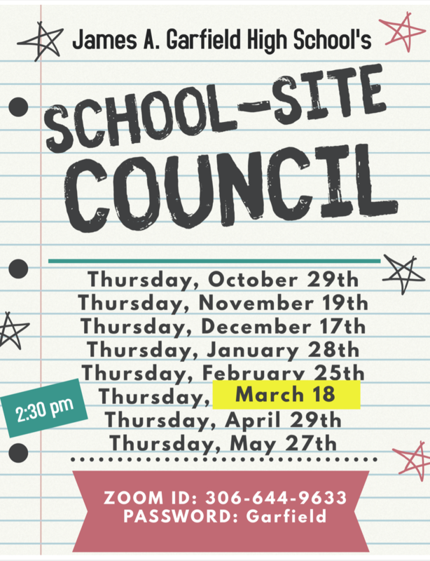 James A. Garfield HS School Site Council