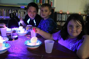 Glow-in-the-dark Art Camp