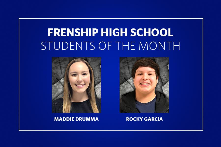 Senior Students of the Month
