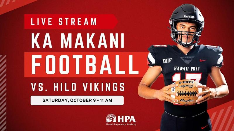 Football Scrimmage vs HPA | Saturday, October 9, 2021 @ 11 AM Featured Photo