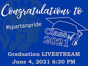 Graduation LiveStream Banner