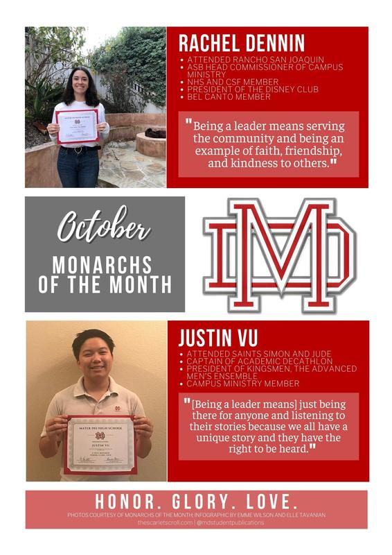 Monarchs of the Month of October! Featured Photo