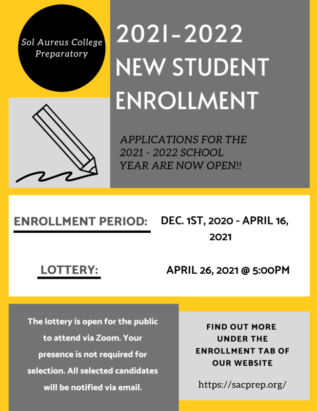 New Student Enrollment Now Open Thumbnail Image