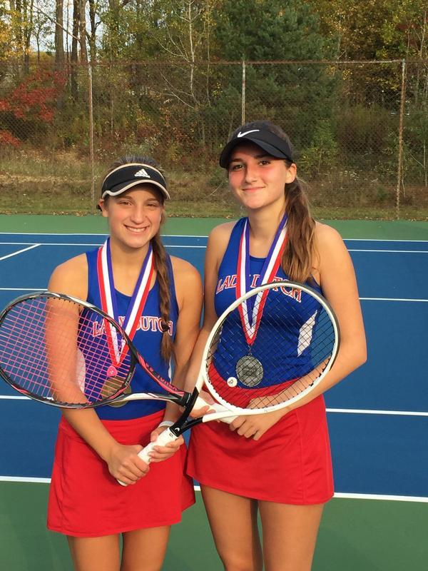 DIX Singles Tennis Champion - Samantha Hayes and Runner-up Lilia Lion Thumbnail Image