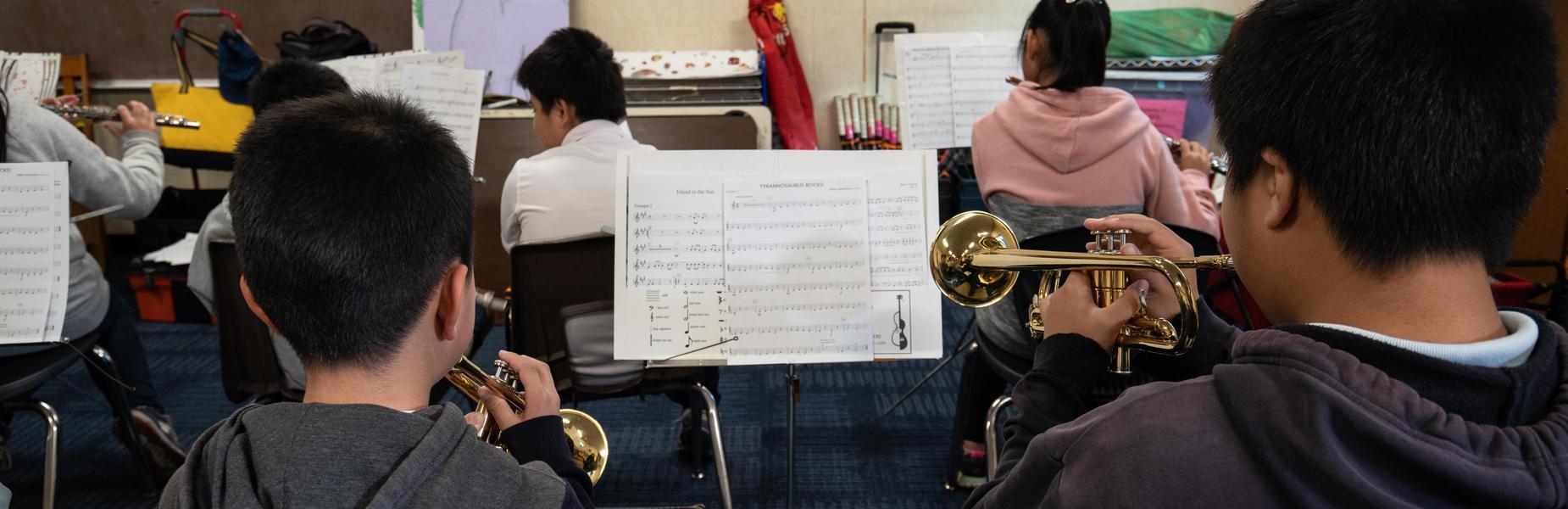 Ynez Band Students