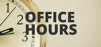 Plavan Office Hours - Modified for Student Drop off and Pick Up Featured Photo