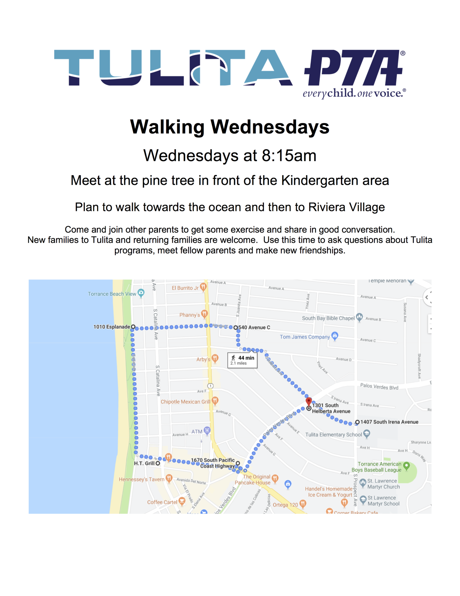 Walking Wednesdays